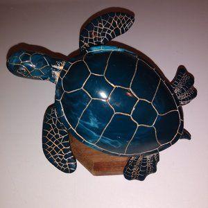 Vintage G.H. Cook & Co Sea Turtle Art Sculpture